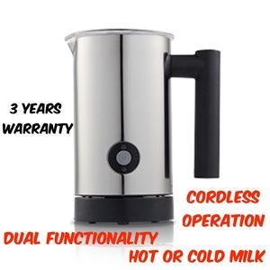 Expressi Automatic Electric Milk Frother and Warmer Coffee Latte Cappuccino